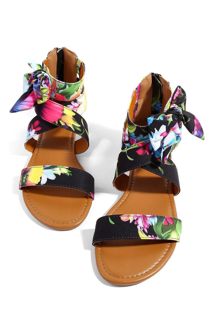 Womens sandals that zip up the back - Topped Off With A Perfect Bow The Nathalie Women Sandals Feature An Ankle Wrap Side Bow And Zip Up Back