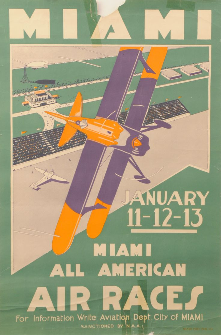 11 thoughts on the golden age of the national air races - The 6th Annual Miami All American Air Races January 11 12 13