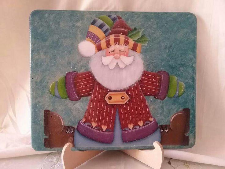 Navidad by Mi taller arte y pintura decorativa (fb)