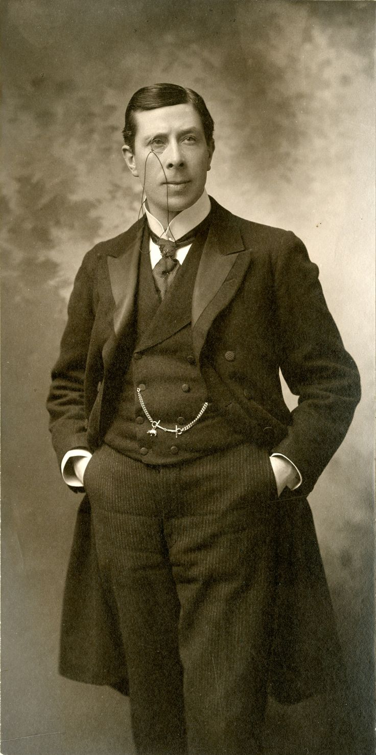 ๑ Nineteen Fourteen ๑  historical happenings, fashion, art & style from a century ago - Silent Film Actor George Arliss, 1914