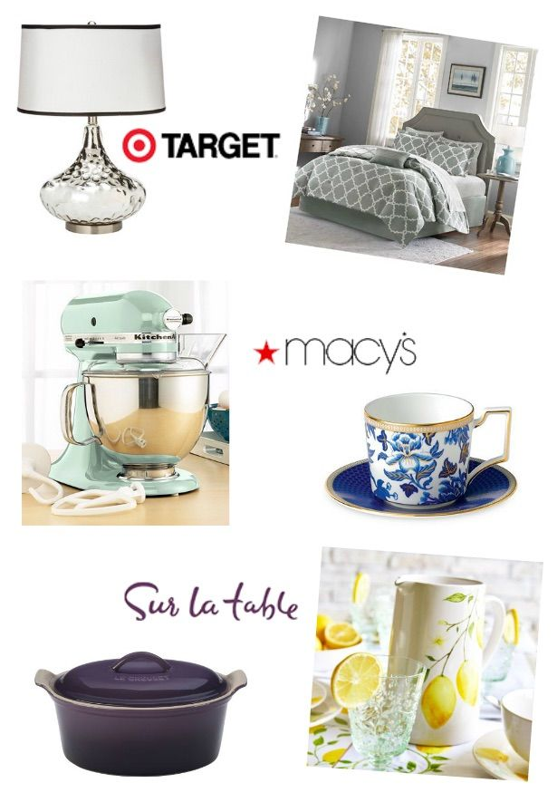 118 best images about wedding registry on pinterest for Best store for wedding registry