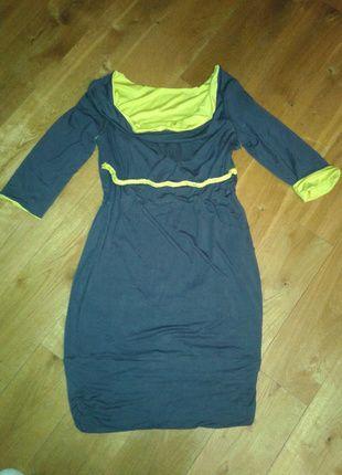 Kup mój przedmiot na #vintedpl http://www.vinted.pl/damska-odziez/sukienki-ciazowe/11364586-sukienka-ciazowy-szaro-zolta-neon-4244