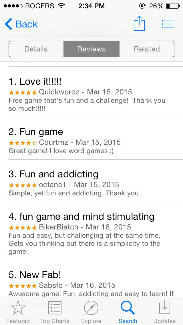 We are getting 5 star ratings and tons of excellent feedback. Thanks to everyone !