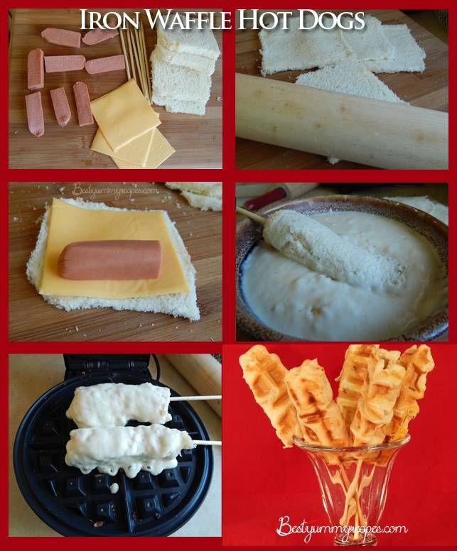 hotdog waffle recipe