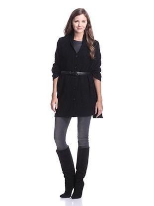 Lafayette 148 Women's Cashmere Infinity Shawl (Black)