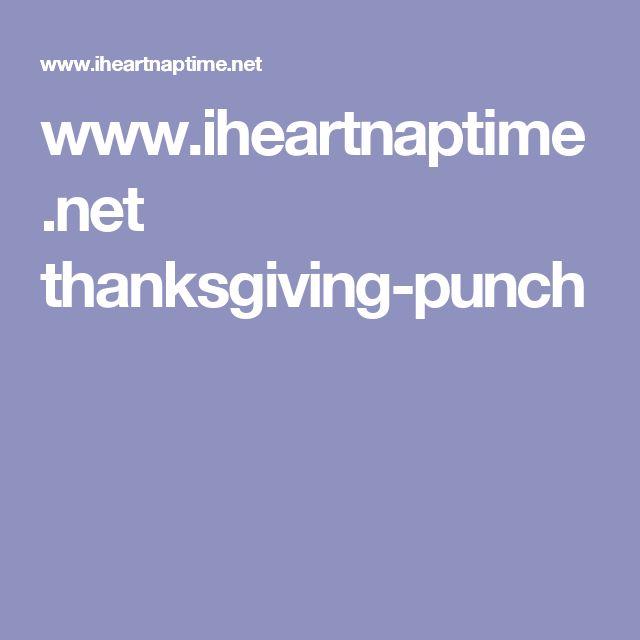 www.iheartnaptime.net thanksgiving-punch