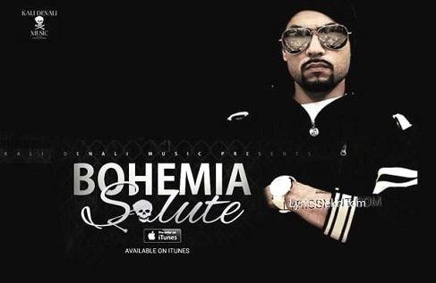Salute Bohemia Rap Song Lyrics