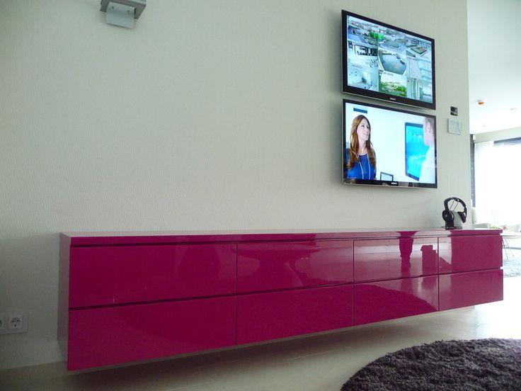 Design Tv Mobel ~ Exclusief zwevend design tv meubel op maat exclusieve