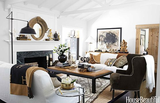 """beautiful rooms & philosophy/"""" If it can't be used it doesn't enter my home"""" Need to adopt this — Dering Hall"""