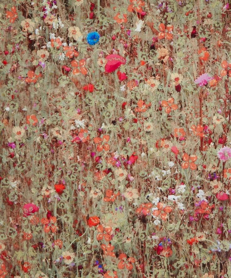 Mawston Meadow B Tana Lawn, Liberty Art Fabrics Autumn/ Winter 2012