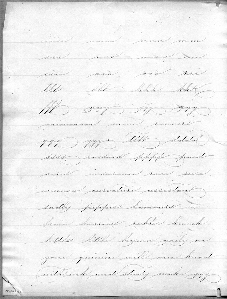 Style Spencerian Penmanship Lessons: 1000+ Images About Penmanship On Pinterest