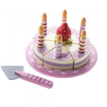 Early Learning Wooden Birthday Cake