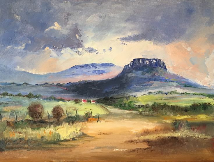 """""""Road to the Malutis"""" (Eastern Free State, South Africa)"""