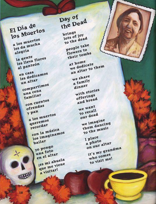 Poema - El Dia de los Muertos