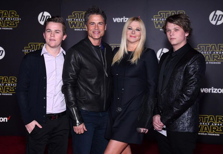 "Rob Lowe, Sheryl Berkoff,, John Owen Lowe & Matthew Lowe.- Star Wars: The Force Awakens Red Carpet Premieres In Hollywood & Worldwide -  Star Wars - @starwars - #StarWars - @EpisodeVII -  Force Friday - #TheForceAwakens - FuTurXTV & Funk Gumbo Radio: http://www.live365.com/stations/sirhobson and ""Like"" us at: https://www.facebook.com/FUNKGUMBORADIO"