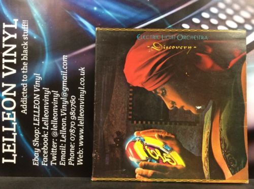 ELO Discovery LP Album Vinyl Record JETLX500 A2/B2 Pop Rock 70's Music:Records:Albums/ LPs:Pop:1970s