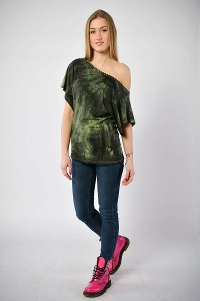 """Ręcznie farbowana imonowa bluzka """"Street Style"""""""