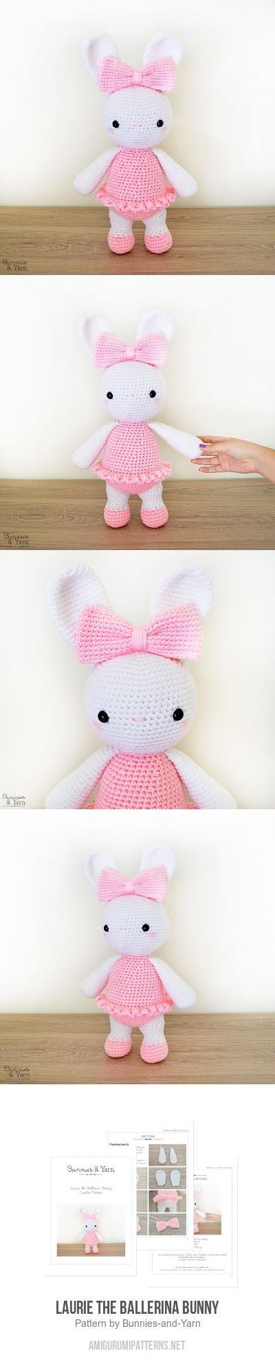 Laurie The Ballerina Bunny Amigurumi Pattern
