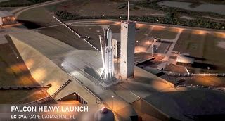 InterStellar News: SpaceX schedules Falcon Heavy's maiden launch for ...