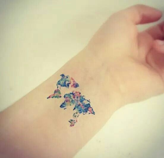 Cute World Tattoo