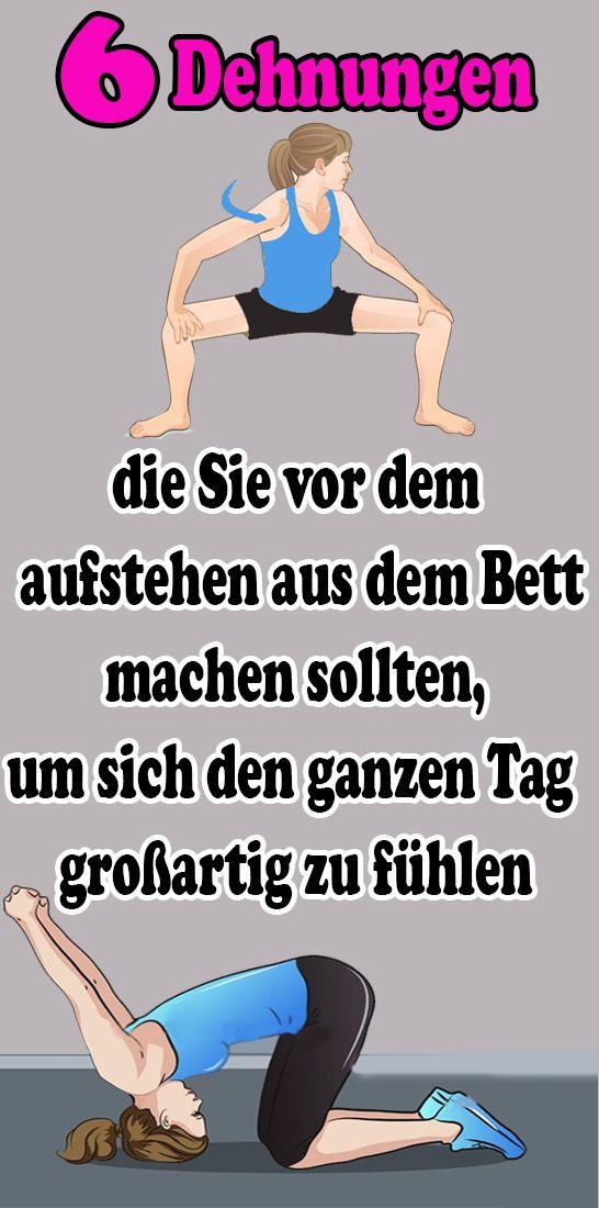6 estirpes que você deve tirar da cama antes de acordar o dia todo   – Gesundheit und fitness