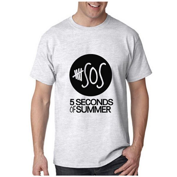 Tops Tees Tshirts 5 Second Of Summer 5 SOS T SHIRT WHITE S MENS MUSIC ONE DIRECTION CRAZY T-shirt European size  http://playertronics.com/products/tops-tees-tshirts-5-second-of-summer-5-sos-t-shirt-white-s-mens-music-one-direction-crazy-t-shirt-european-size-2/