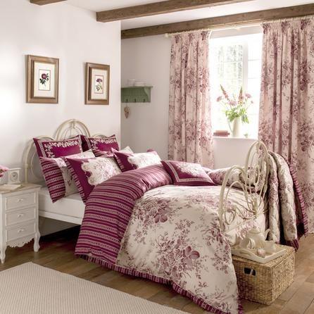 dorma red willoughby collection duvet cover dunelm. Black Bedroom Furniture Sets. Home Design Ideas