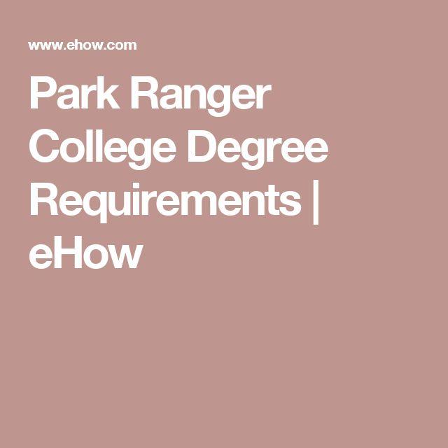17 best Park Ranger images on Pinterest Park rangers, Park - park ranger resume