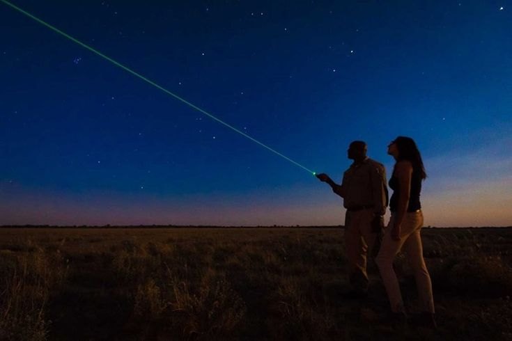 Central Kalahari Game Reserve is home to a number of luxury lodges, many of which offer stargazing