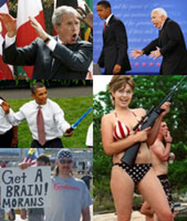 Funny Political Pictures, Memes and Cartoons: The 100 Funniest Pictures of the Decade