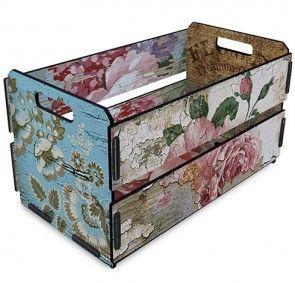 Caixote de Feira Flores