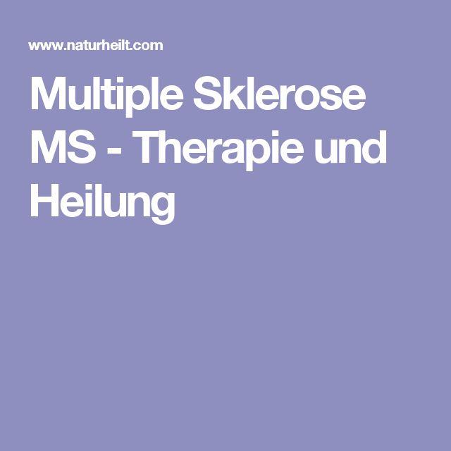Multiple Sklerose MS - Therapie und Heilung