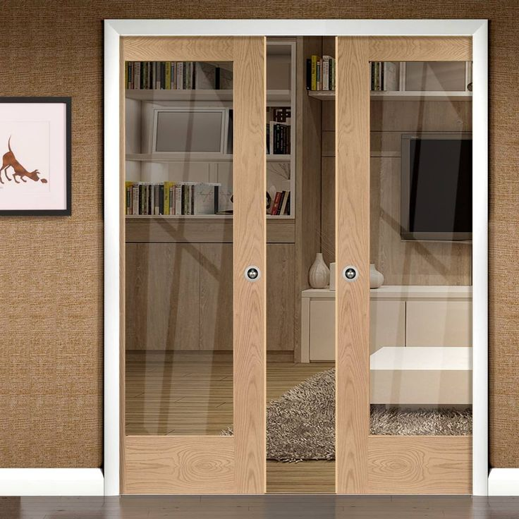 25 best ideas about double pocket door on pinterest for Double sliding patio doors