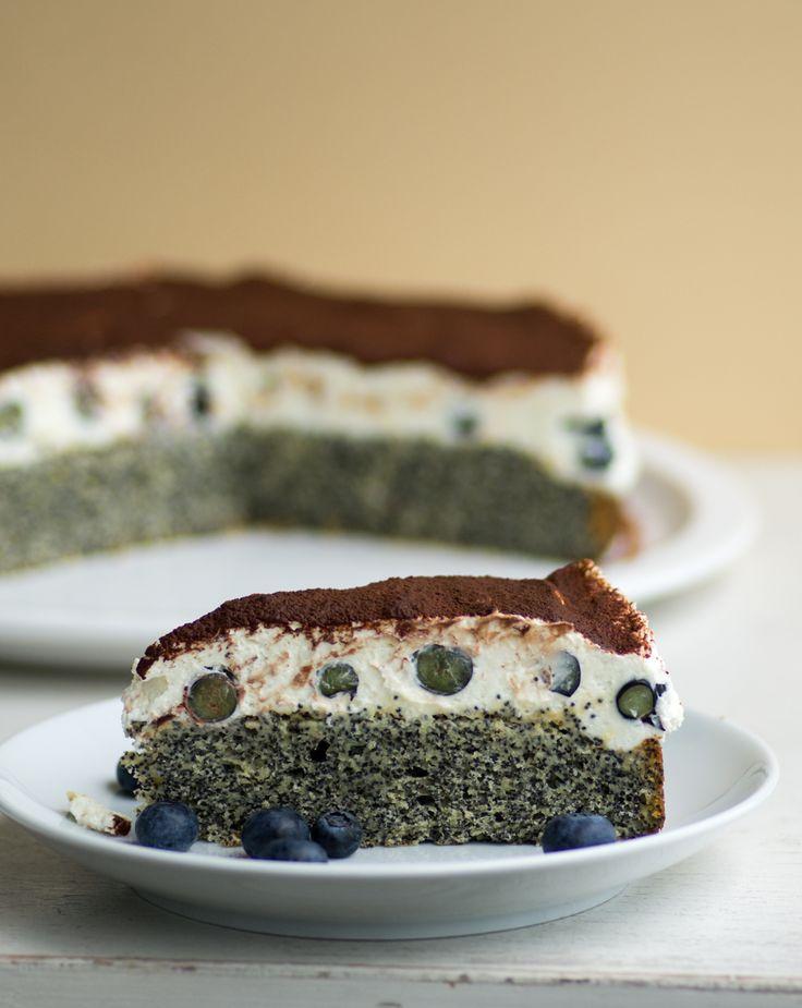 unglaublich lecker - Funda's türkischer Mohnkuchen mit Blaubeeren | Cosy Kitchen