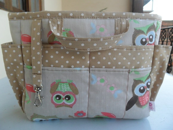 Sewing bag purse tote
