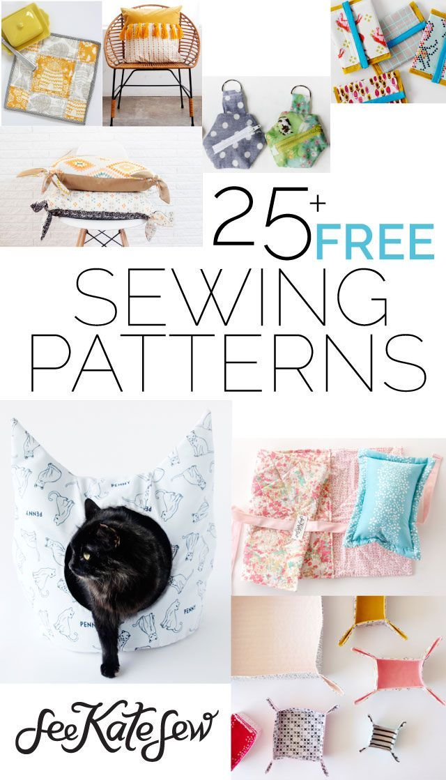 Here's an updated roundup of more than 25 FREE sewing patterns from the archives! Make something fun for your home, a friend, a new baby, or even your fur baby! There's something here for everyone. :) Take Flight Kids Knapsack– This kids backpack is cute and easy to sew! DIY Bow Shirt– BOWS! So cute …
