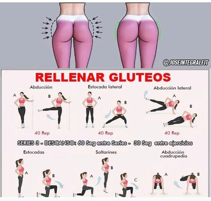 Упражнения Для Похудения Талии И Ягодиц.