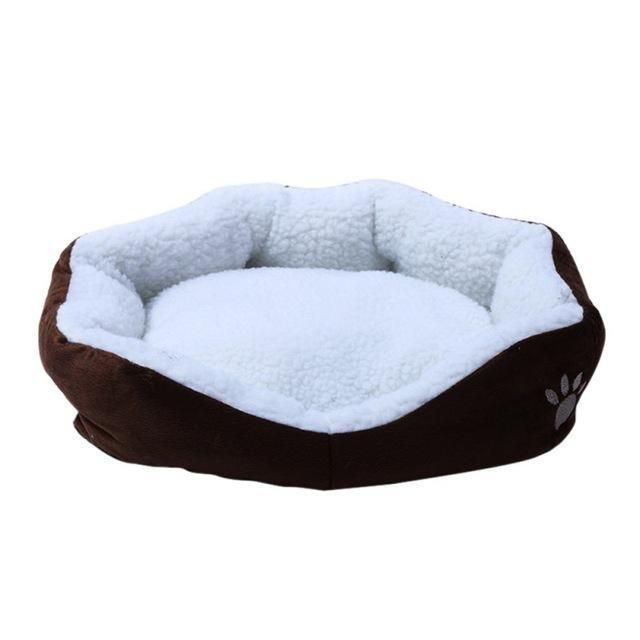 Mini Sofa Bed For Cat Pet Dog Sleeping Bed Washable Lamb Down Fabric House Soft Material N For Pets Dog Sofa Bed Sleeping Dogs Dog Cat
