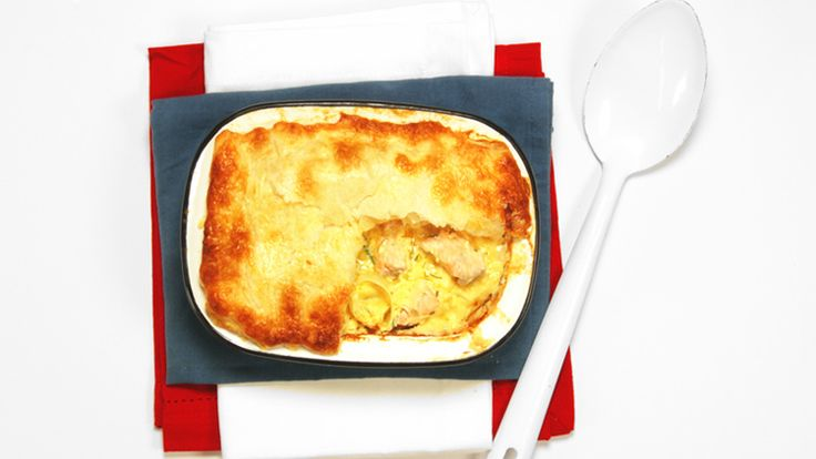 Learn how to make a delicious UK Salmon and Leek Pie