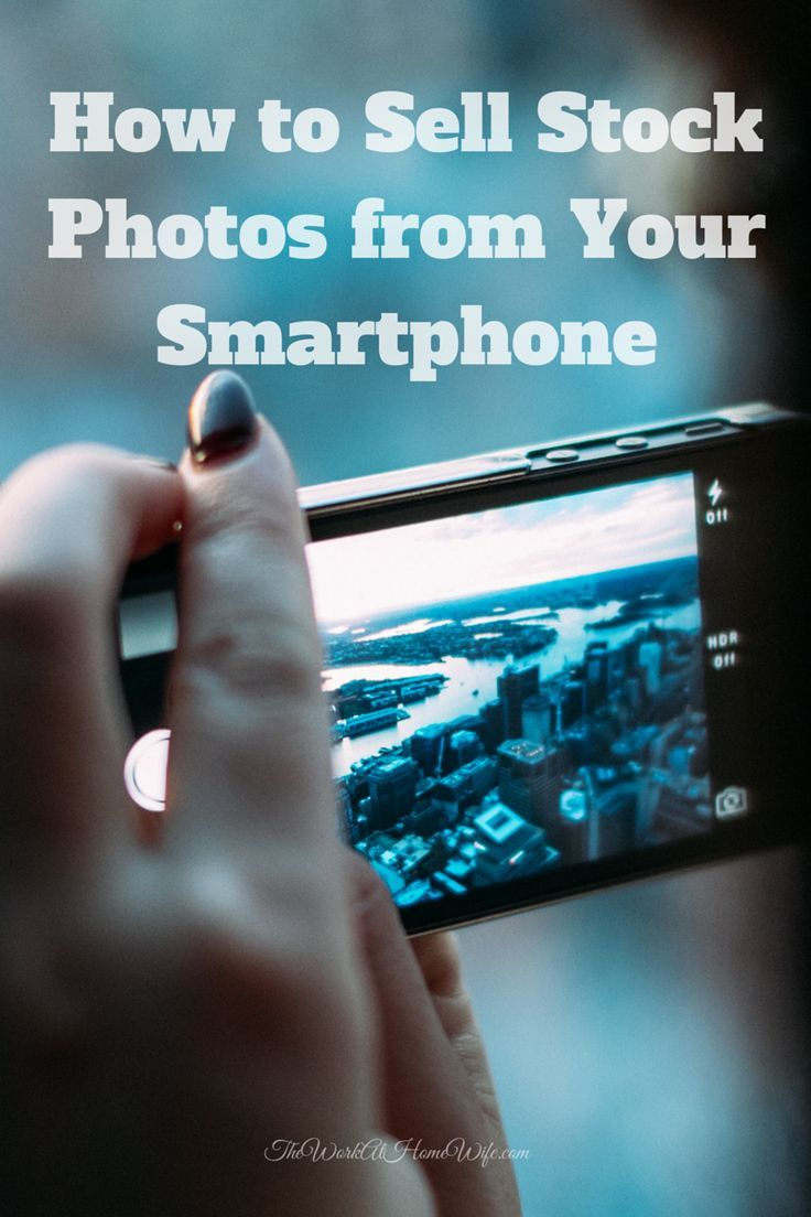 In the past I have shared how to sell photos online for cash. In today's smartphone nation, it's easier than ever to make extra money selling stock photos from your cellphone, too.
