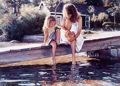 Touching the Surface - Steve Hanks - World-Wide-Art.com - $295.00