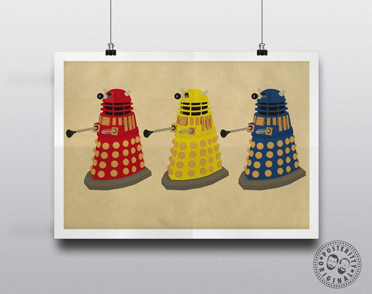 #minimalist #poster #posteritty #fanart #whovian #drwho #doctorwhol #dalek #daleks