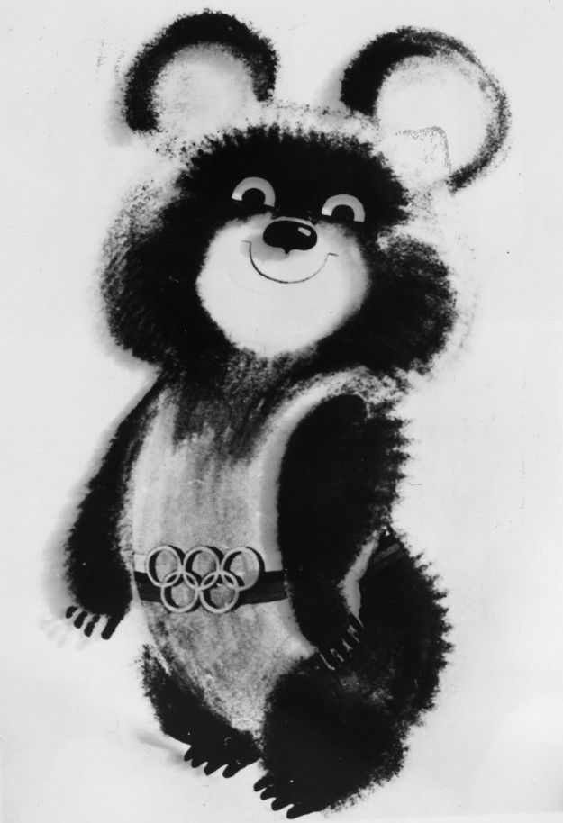 Olympic mascots in the past.