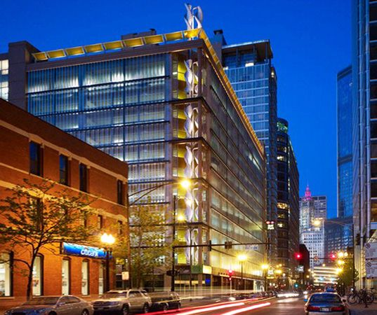 Chicago Parking Garage Harvests Energy From Windy City Gusts | Inhabitat - Sustainable Design Innovation, Eco Architecture, Green Building