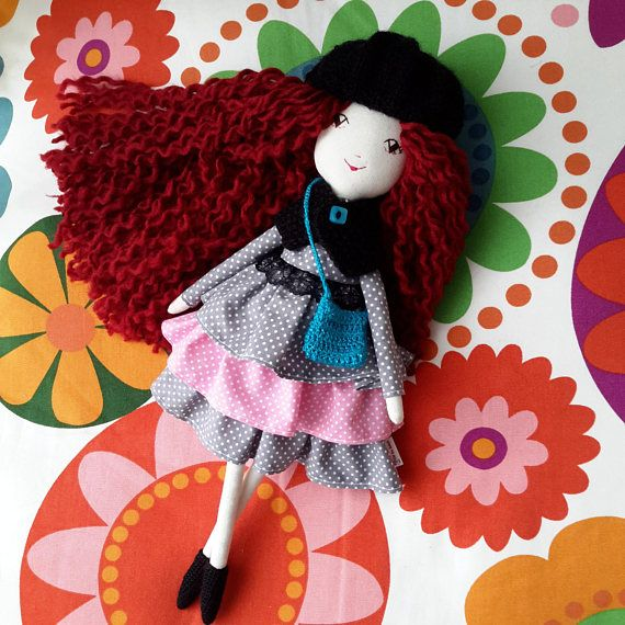 Check out this item in my Etsy shop https://www.etsy.com/listing/582792023/handmade-cloth-doll-handmade-fabric-doll