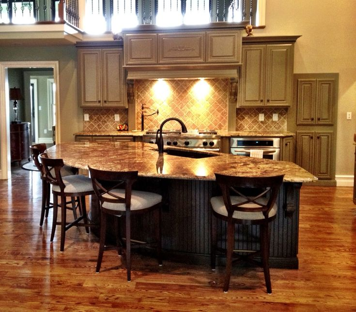 Beautiful Kitchens With Islands With Design Ideas 53652: 64 Best Images About Kitchen On Pinterest