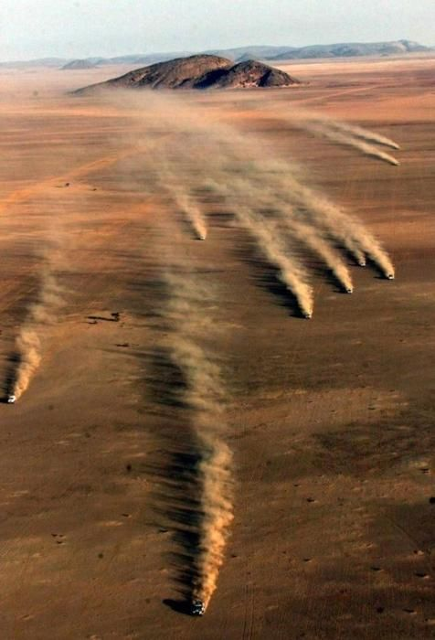 Racing across the desert, so cool #KiwiConnect.com #together