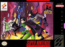 The Adventures of Batman & Robin - based on the popular DC Comics characters Batman and Robin and specifically the critically acclaimed animated cartoon Batman: The Animated Series (which had been renamed The Adventures of Batman and Robin for its second season at the time of the game's production).