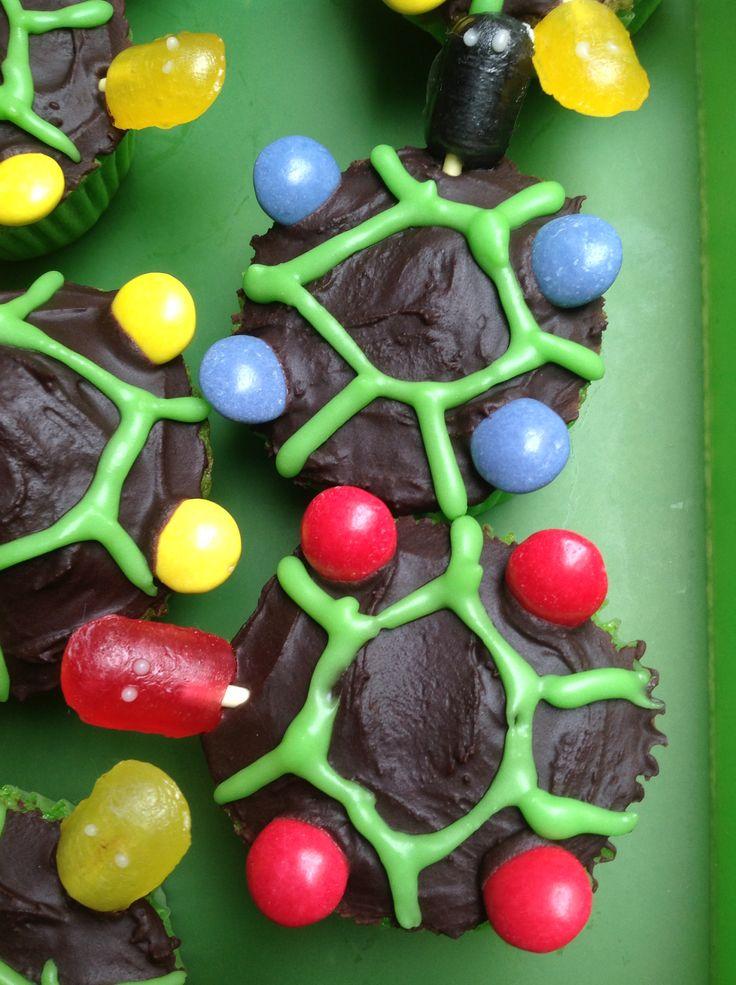 Skildpadde muffins