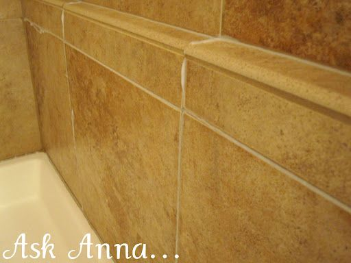 how to clean tile grout lines